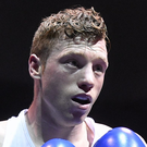 Ray Moylette (pictured) lost to the highly-rated Hovhannes Bachkov Photo: Sportsfile