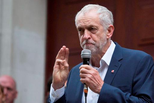 Jeremy Corbyn has insisted he is 'ready to reach out' to his enemies in the Labour party. Photo: Rick Findler/PA Wire