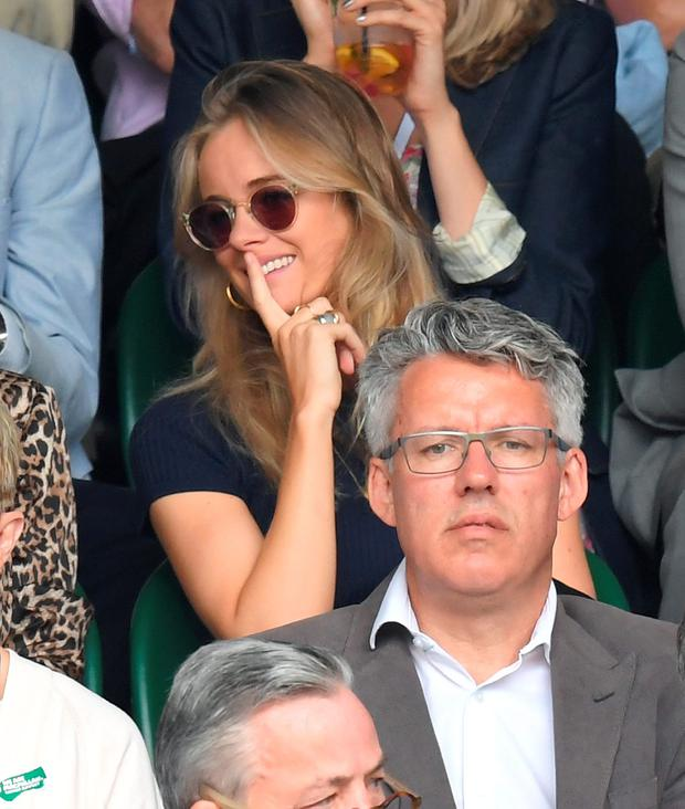 Cressida Bonas attends day eight of the Wimbledon Tennis Championships at Wimbledon on July 04, 2016 in London, England. (Photo by Karwai Tang/WireImage)