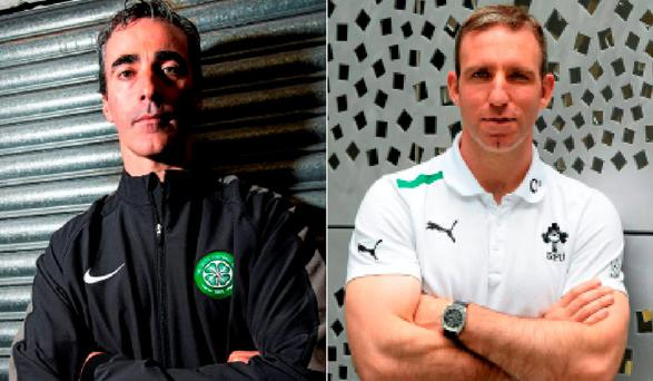 Jim McGuinness and Enda McNulty