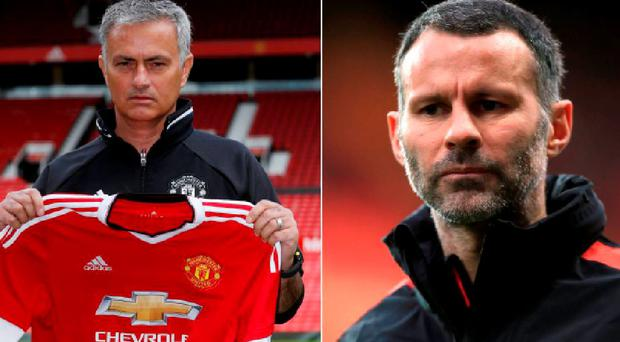 Jose Mourinho was speaking to the media for the first time as Manchester United boss today and he had his say on Ryan Giggs' departure