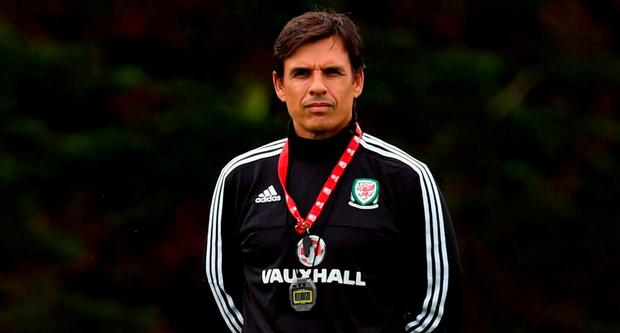 Wales' coach Chris Coleman
