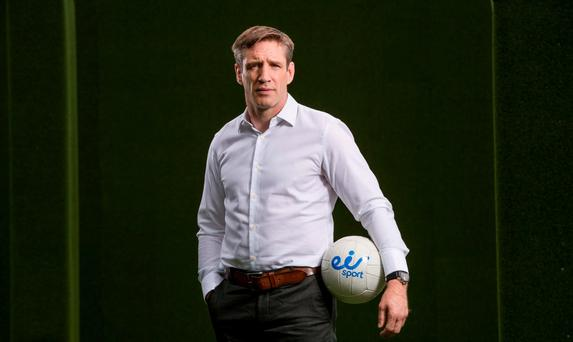 Kieran McGeeney at the launch of eir Sport today. Credit ©INPHO/Morgan Treacy