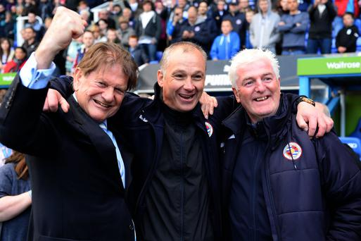 Eamonn Dolan (c) passed away last month