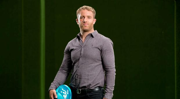 Luke Fitzgerald at the launch of eir Sport Credit ©INPHO/Morgan Treacy