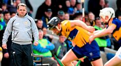 'Management, though, is a difficult, messy business. Davy's mistakes are all made in public.' Picture: Diarmuid Greene / SPORTSFILE