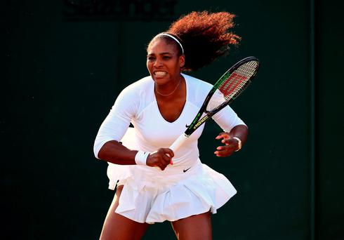 "Williams: ""One thing I have learnt this year is just to focus on my match."" Photo: John Walton/PA Wire."