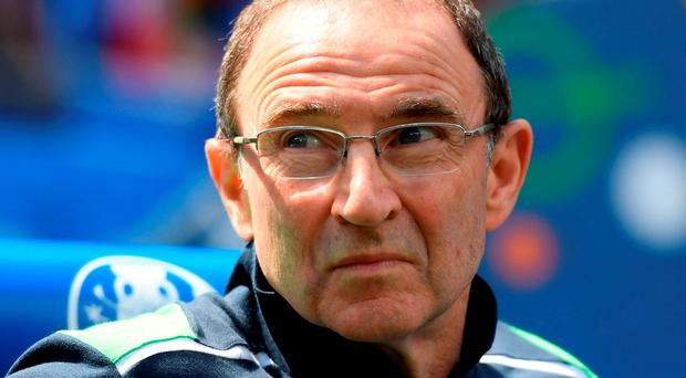 Republic of Ireland manager Martin O'Neill. Photo: Stephen McCarthy/Sportsfile