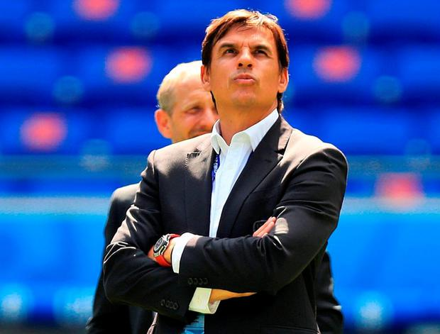 Coleman grew up as a young footballer in Wales with Speed and, after seeing his predecessor begin the revival of a team who had languished at 117 in the world rankings, said that he was thinking constantly of his friend. Photo: Mike Egerton/PA Wire