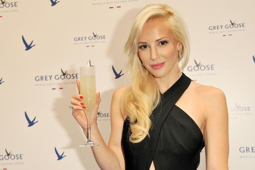 Louise Linton attends GREY GOOSE Le Martini et Vous evening at Devils Advocate on July 16, 2014 in Edinburgh, Scotland. (Photo by Martin Grimes/Getty Images for Grey Goose)