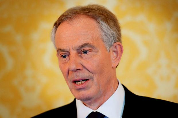 Former British Prime Minister Tony Blair pictured at a press conference held to respond to the Chilcot report Photo: Stefan Rousseau/PA Wire