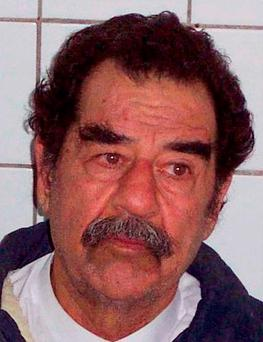 Former Iraqi leader Saddam Hussein following his capture Photo: Department of Defense/PA Wire