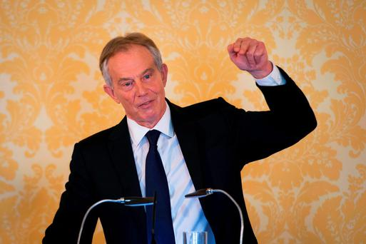 'Somewhat scandalously, former British Prime Minister Tony Blair yesterday told of his regret over the war, but coolly stood by his decision to join the US-led invasion of Iraq in 2003' Photo: Stefan Rousseau/PA Wire