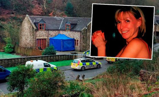 Sadie Hartley, 60, who was allegedly murdered at her front door