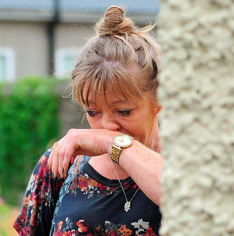 Karen Duffy, whose father is a resident at the St Vincent's Care Centre in Athlone Photo: James Flynn/APX
