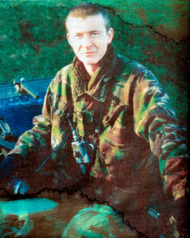 Lance Corporal Ian Malone, who was killed by a sniper in Basra Photo: Damien Eagers