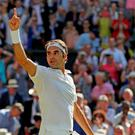 Cilic was shattered, Federer exultant. Photo: Reuters