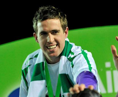 Stephen Bradley of Shamrock Rovers Picture: David Maher / SPORTSFILE