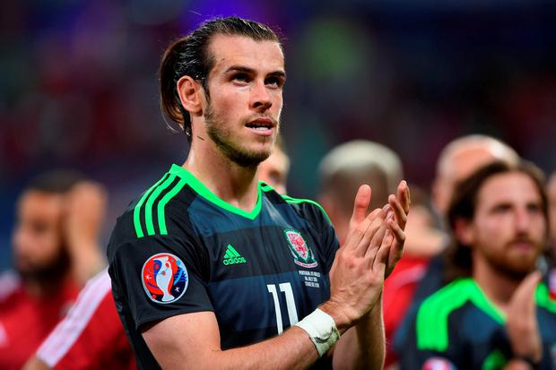 Wales' Gareth Bale after the match at the Stade de Lyon Picture: PA