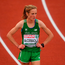 Fionnuala McCormack of Ireland after finishing fourth in the Women's 10000m final on day one of the 23rd European Athletics Championships Picture: Brendan Moran/Sportsfile