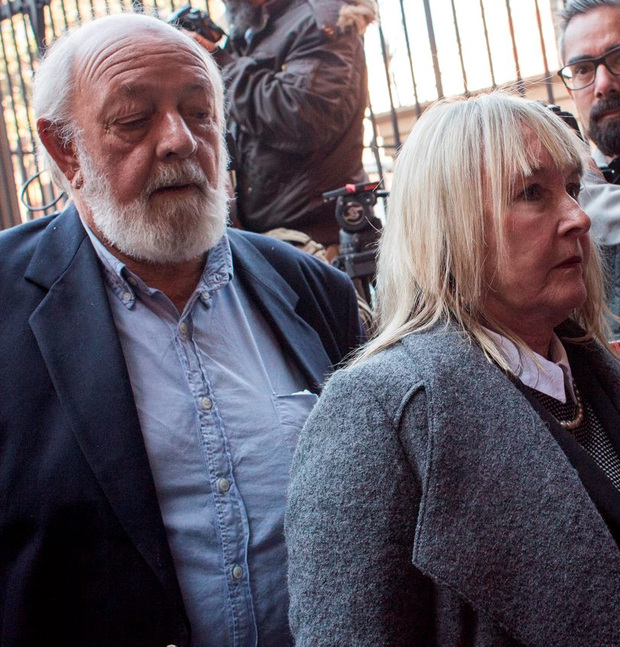 June and Barry Steenkamp, parents of Reeva Photo: Charlie Shoemaker/Getty Images