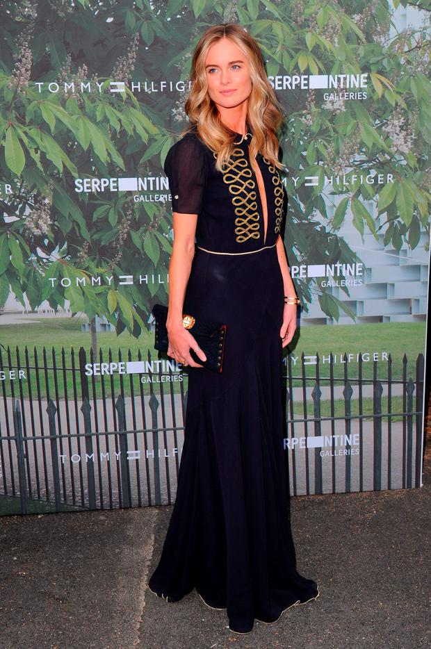 Cressida Bonas arrives for the Serpentine Summer Party at The Serpentine Gallery on July 6, 2016 in London, England. (Photo by Eamonn M. McCormack/Getty Images)