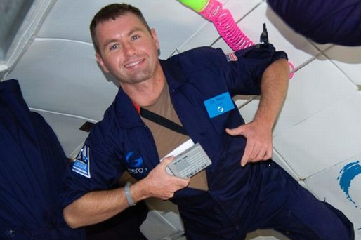 Dr Marc Ó Gríofa (36) from Clonee, Co Meath works at NASA.