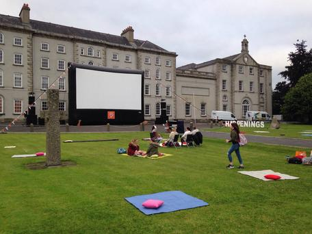 Happenings Dublin - outdoor cinema event. Photo: Facebook