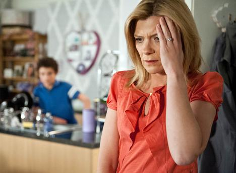 Jane Danson as Leanne Battersby in Coronation Street