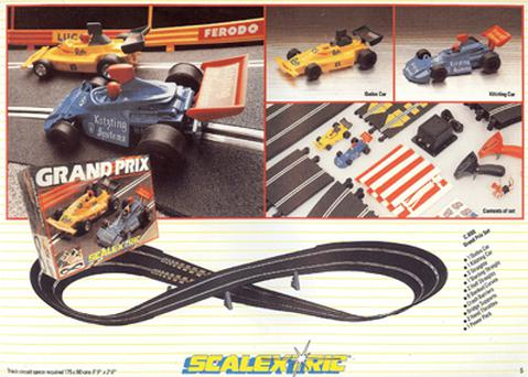Scalextric Grand Prix set