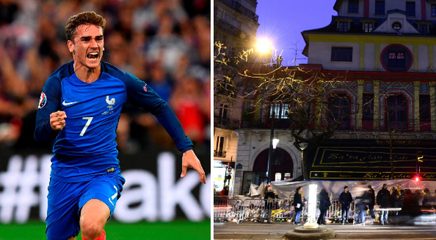 Antoine Griezmann and the Bataclan Theatre