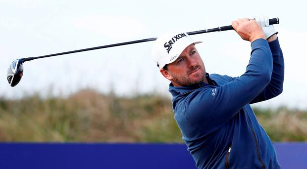 Northern Ireland's Graeme McDowell during the first round Action Images via Reuters / Jason Cairnduff