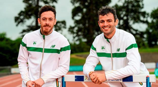 Thomas Barr will next take to the track tomorrow, where he hopes to help the Irish 4x400m team to Olympic qualification. Picture Credit: Sam Barnes/Sportsfile