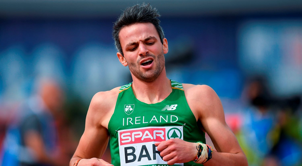 Thomas Barr echoed McCormack's belief that the initiative to have athletes wear 'I run clean' bibs is doing little to combat the doping problem. Picture Credit: Brendan Moran/Sportsfile