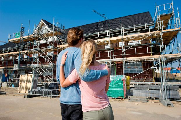 Families are finding it increasingly difficult to find affordable homes (Stock picture)