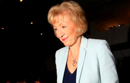 Britain's Energy Minister Andrea Leadsom Picture: REUTERS/Paul Hackett
