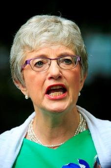 Minister Katherine Zappone Photo: Gareth Chaney/Collins