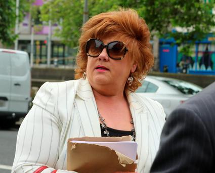 Gwen Finlay owes KBC €606k Picture: Collins Courts