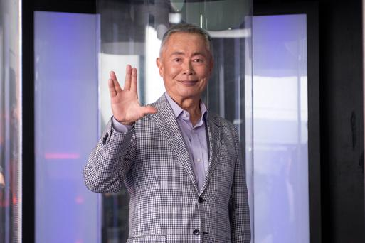 Actor George Takei attends the Star Trek: The Star Fleet Academy Experience at Intrepid Sea-Air-Space Museum on June 30, 2016 in New York City. (Photo by Noam Galai/WireImage)