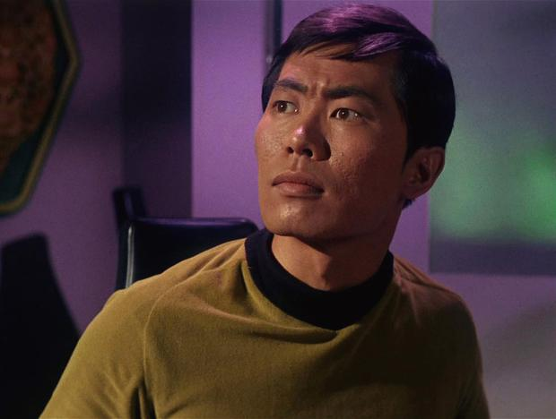 American actor George Takei appears as Sulu in a scene from 'The Man Trap,' the premiere episode of 'Star Trek,' which aired on September 8, 1966. (Photo by CBS Photo Archive/Getty Images)