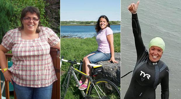 Trish Rovira once weighed more than 15 stone before she decided to tackle her weight