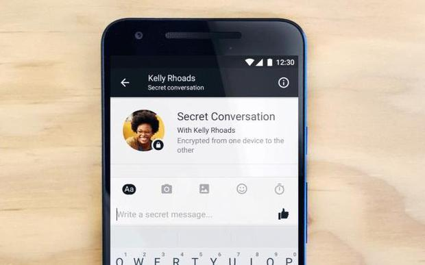 Here's what secret conversation will look like