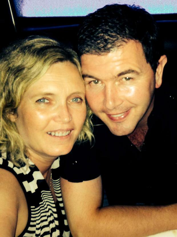 Darren Heffernan and his wife Sharon Walsh