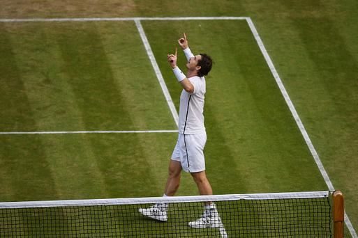 Reliable Murray crushes Berdych to reach Wimbledon final