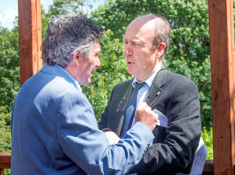 John Halligan (left) and Shane Ross of the Independent Alliance spurned the Attorney General's advice on the Wallace bill Photo: Tony Gavin