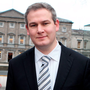 Sean Kyne, the Minister of State for Gaeltacht Affairs and Natural Resources Photo: Tom Burke