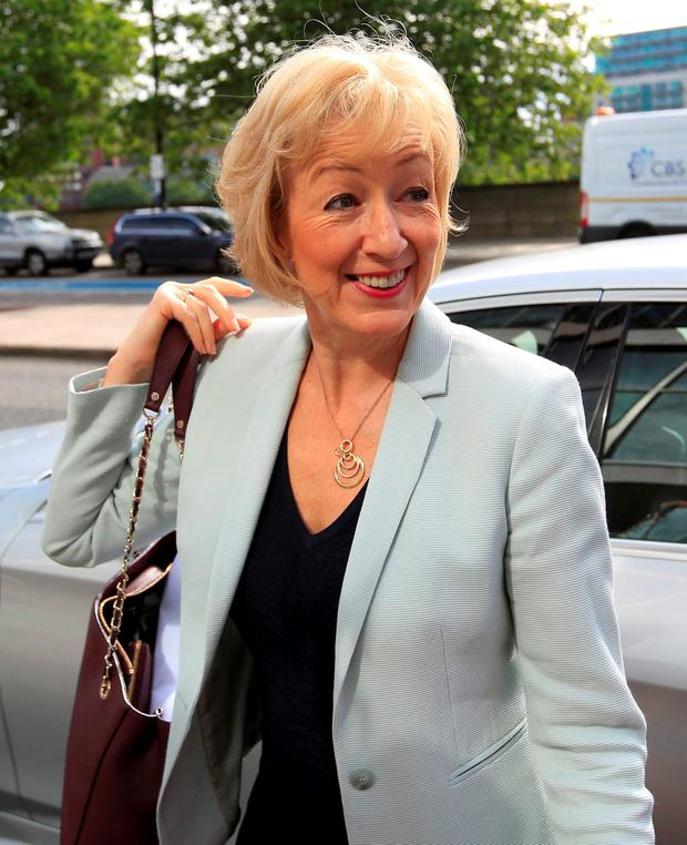 Tory leadership candidate Andrea Leadsom Photo: REUTERS/Paul Hackett