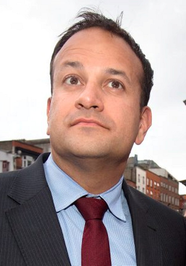 'All the money in Fine Gael is going on Leo Varadkar to become the next party leader and Taoiseach. But nobody is suggesting that it will be handed to him on a plate' Photo: Tony Gavin