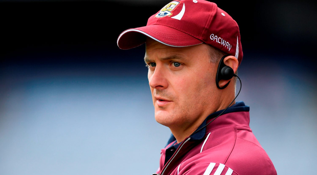 Galway manager Micheál Donoghue Photo by Stephen McCarthy/Sportsfile
