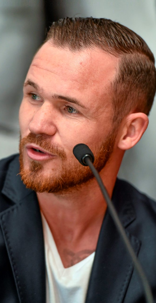 Dubliner Patrick Hyland will be taking on Josh Warrington on July 30 (Live on Sky Sports 1) in front of his famous hometown support in Leeds. Photo: Sportsfile